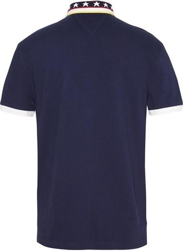 Tommy Hilfiger Erkek Tjm Stars Collar Polo Tişört DM0DM06961 Siyah
